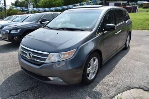 2011 Honda Odyssey for sale at Gamble Motor Co in La Follette TN