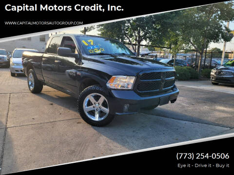 2017 RAM Ram Pickup 1500 for sale at Capital Motors Credit, Inc. in Chicago IL