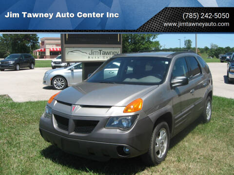 2001 Pontiac Aztek for sale at Jim Tawney Auto Center Inc in Ottawa KS
