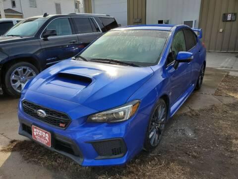 2018 Subaru WRX for sale at Buena Vista Auto Sales in Storm Lake IA