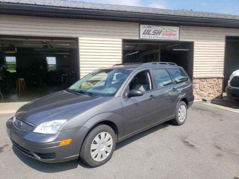 2005 Ford Focus for sale at Ulsh Auto Sales Inc. in Summit Station PA