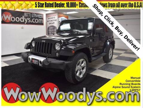 2014 Jeep Wrangler for sale at WOODY'S AUTOMOTIVE GROUP in Chillicothe MO