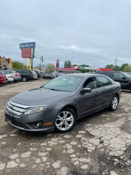 2012 Ford Fusion for sale at Big Bills in Milwaukee WI