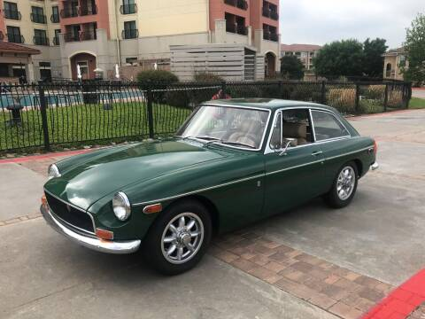 1970 MG MGB for sale at Enthusiast Motorcars of Texas in Rowlett TX