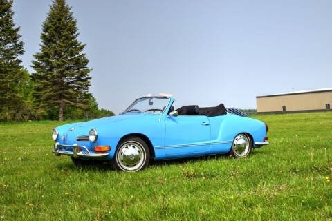 1970 Volkswagen Karmann Ghia for sale at Hooked On Classics in Watertown MN