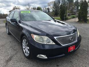 2007 Lexus LS 460 for sale at FUSION AUTO SALES in Spencerport NY