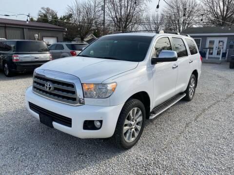 2014 Toyota Sequoia for sale at Davidson Auto Deals in Syracuse IN