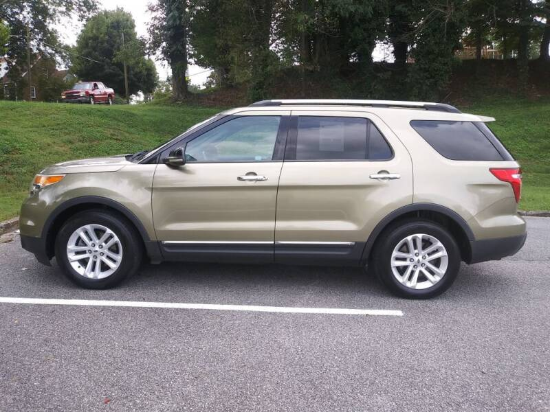 2012 Ford Explorer for sale at Thompson Auto Sales Inc in Knoxville TN