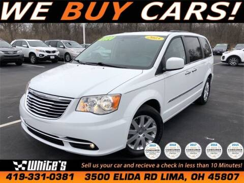 2015 Chrysler Town and Country for sale at White's Honda Toyota of Lima in Lima OH