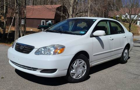 2008 Toyota Corolla for sale at JR AUTO SALES in Candia NH