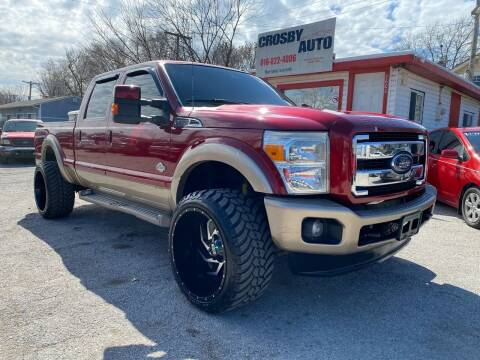 2013 Ford F-250 Super Duty for sale at Crosby Auto LLC in Kansas City MO