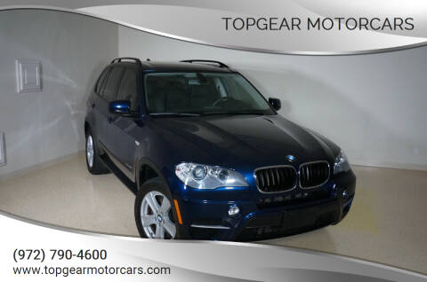 2013 BMW X5 for sale at TopGear Motorcars in Grand Prarie TX
