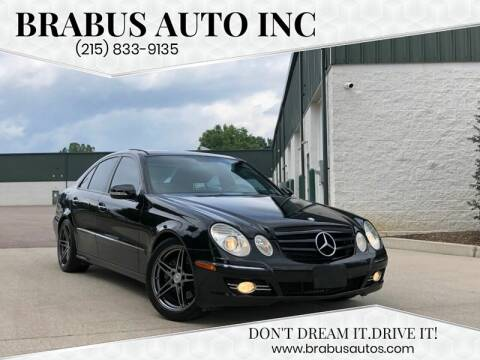 2007 Mercedes-Benz E-Class for sale at Car Time in Philadelphia PA