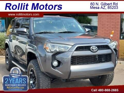 2015 Toyota 4Runner for sale at Rollit Motors in Mesa AZ