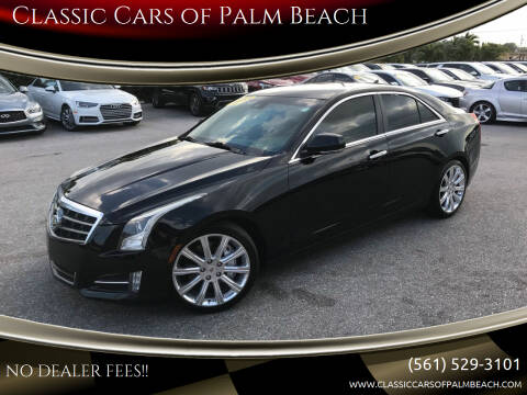 2013 Cadillac ATS for sale at Classic Cars of Palm Beach in Jupiter FL