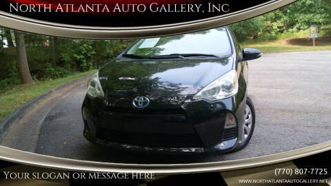 2012 Toyota Prius c for sale at North Atlanta Auto Gallery, Inc in Alpharetta GA