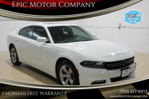 2015 Dodge Charger for sale at Epic Motor Company in Chantilly VA