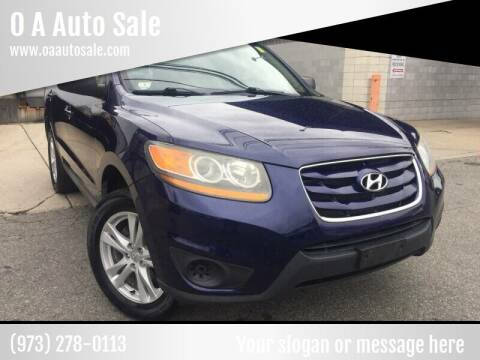 2010 Hyundai Santa Fe for sale at O A Auto Sale - O & A Auto Sale in Paterson NJ