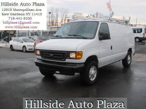 2007 Ford E-Series Cargo for sale at Hillside Auto Plaza in Kew Gardens NY