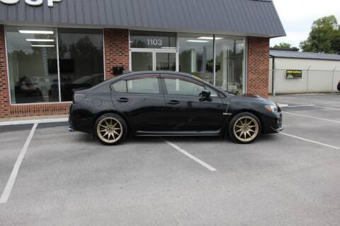 2016 Subaru WRX for sale at Jones Automotive Group in Jacksonville NC