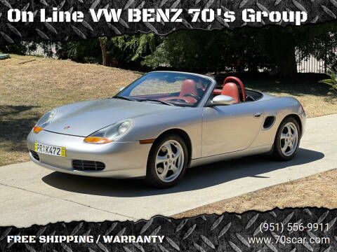 1998 Porsche Boxster for sale at On Line VW BENZ 70's Group in Warehouse CA