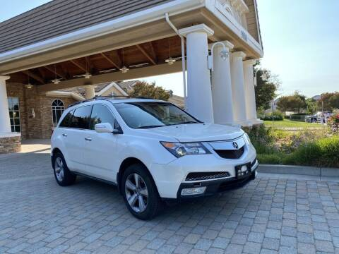 2012 Acura MDX for sale at CarSwitch Inc in San Ramon CA