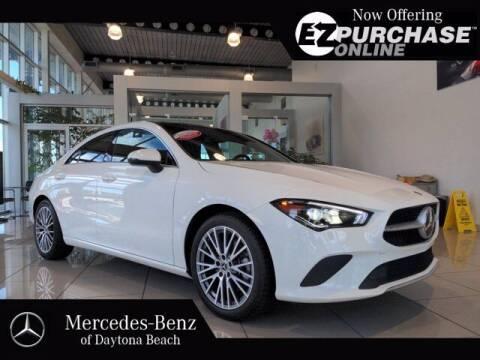 2020 Mercedes-Benz CLA for sale at Mercedes-Benz of Daytona Beach in Daytona Beach FL