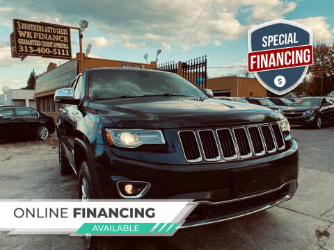2014 Jeep Grand Cherokee for sale at 3 Brothers Auto Sales Inc in Detroit MI