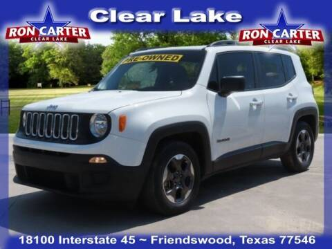 2017 Jeep Renegade for sale at Ron Carter  Clear Lake Used Cars in Houston TX