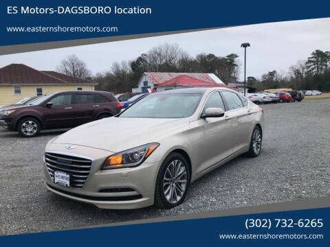 2015 Hyundai Genesis for sale at ES Motors-DAGSBORO location in Dagsboro DE