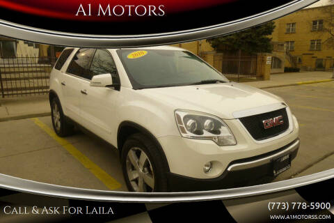 2010 GMC Acadia for sale at A1 Motors Inc in Chicago IL