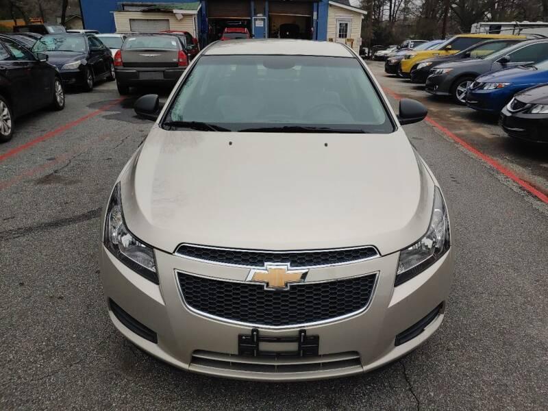 2014 Chevrolet Cruze for sale at Adonai Auto Broker in Marietta GA