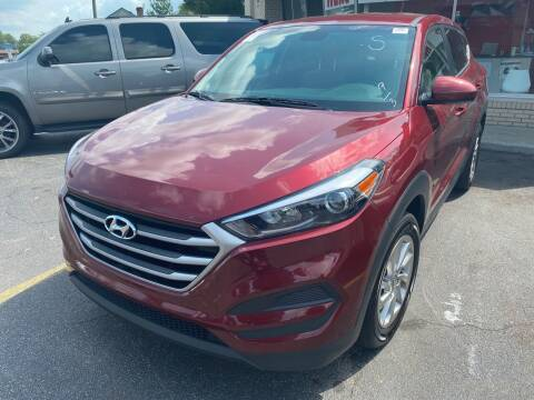 2017 Hyundai Tucson for sale at Right Place Auto Sales in Indianapolis IN