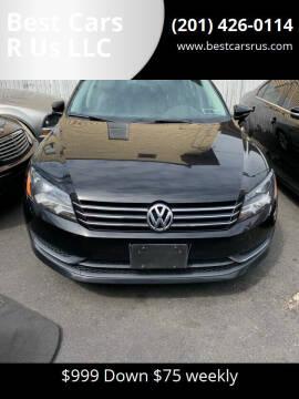 2012 Volkswagen Passat for sale at Best Cars R Us LLC in Irvington NJ