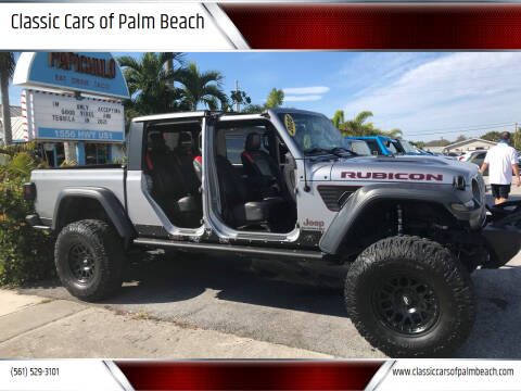 2020 Jeep Gladiator for sale at Classic Cars of Palm Beach in Jupiter FL