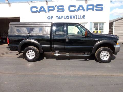 2003 Ford F-250 Super Duty for sale at Caps Cars Of Taylorville in Taylorville IL