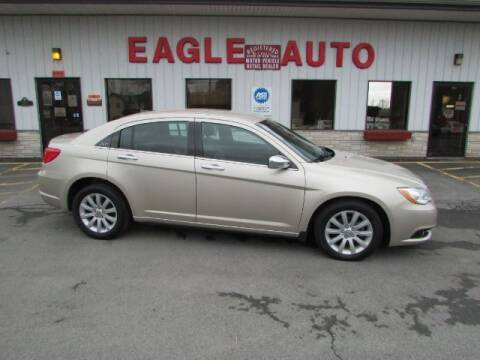 2014 Chrysler 200 for sale at Eagle Auto Center in Seneca Falls NY