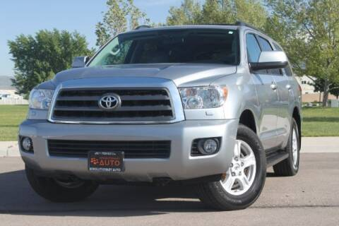 2016 Toyota Sequoia for sale at REVOLUTIONARY AUTO in Lindon UT