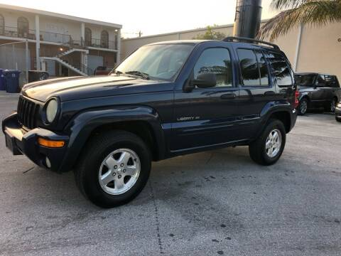 2002 Jeep Liberty for sale at Florida Cool Cars in Fort Lauderdale FL