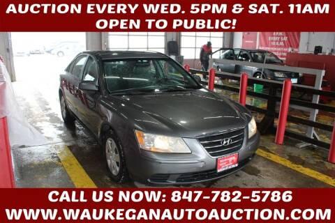 2009 Hyundai Sonata for sale at Waukegan Auto Auction in Waukegan IL