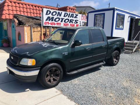 2001 Ford F-150 for sale at DON DIAZ MOTORS in San Diego CA