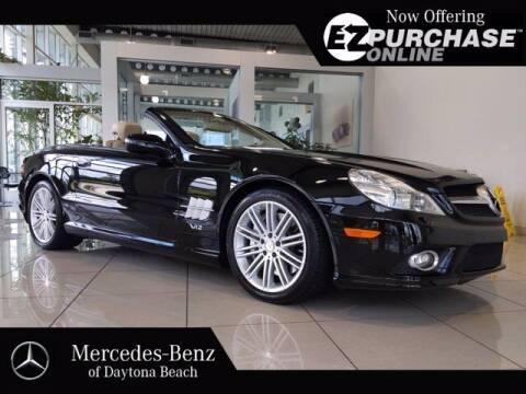 2009 Mercedes-Benz SL-Class for sale at Mercedes-Benz of Daytona Beach in Daytona Beach FL