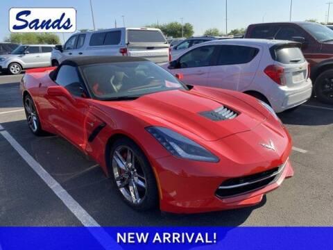 2019 Chevrolet Corvette for sale at Sands Chevrolet in Surprise AZ