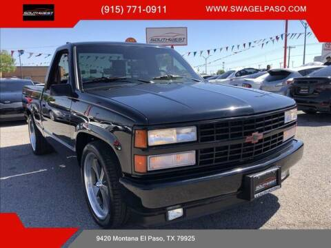 1990 Chevrolet C/K 1500 Series for sale at SOUTHWEST AUTO GROUP-EL PASO in El Paso TX