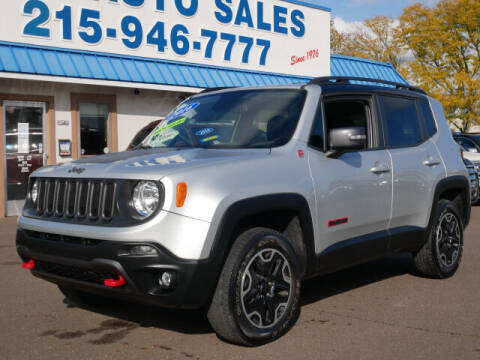 2016 Jeep Renegade for sale at B & D Auto Sales Inc. in Fairless Hills PA