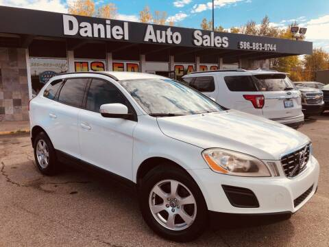 2011 Volvo XC60 for sale at Daniel Auto Sales inc in Clinton Township MI