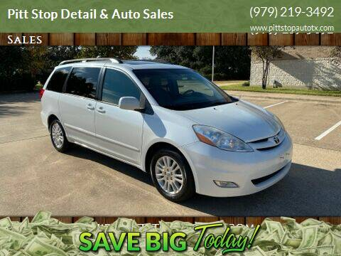 2009 Toyota Sienna for sale at Pitt Stop Detail & Auto Sales in College Station TX