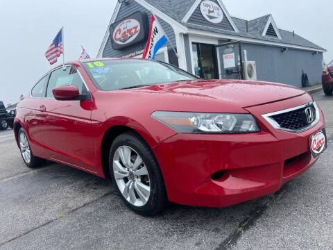 2010 Honda Accord for sale at Cape Cod Carz in Hyannis MA
