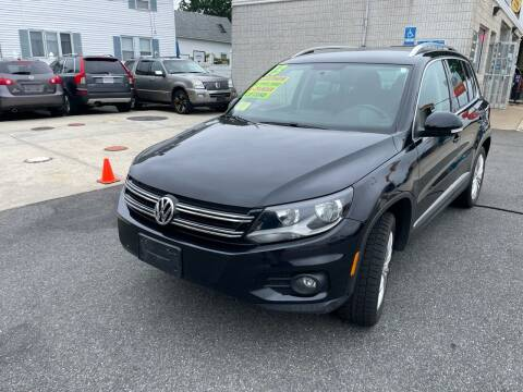 2013 Volkswagen Tiguan for sale at Quincy Shore Automotive in Quincy MA
