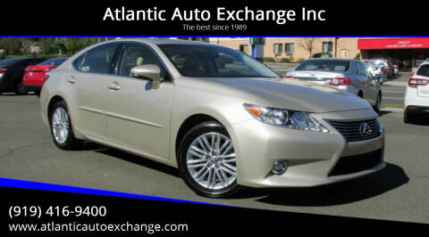 2014 Lexus ES 350 for sale at Atlantic Auto Exchange Inc in Durham NC